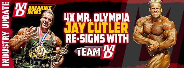 Article: Jay Cutler re-signs with MD for another year!