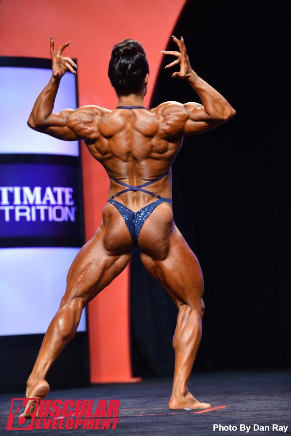 The 2014 Women's Bodybuilding Olympia pre-judging