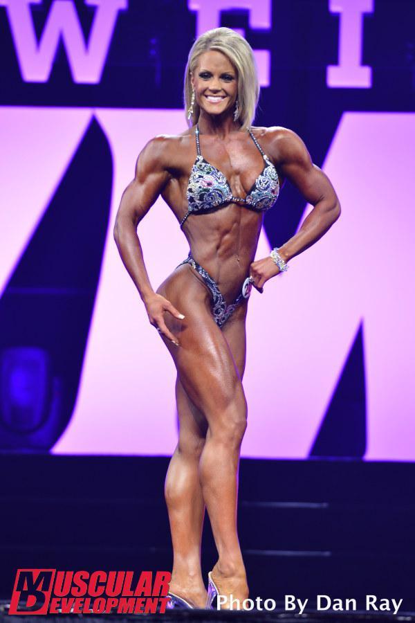Nicole Wilkins, elegancia sobre el escenario