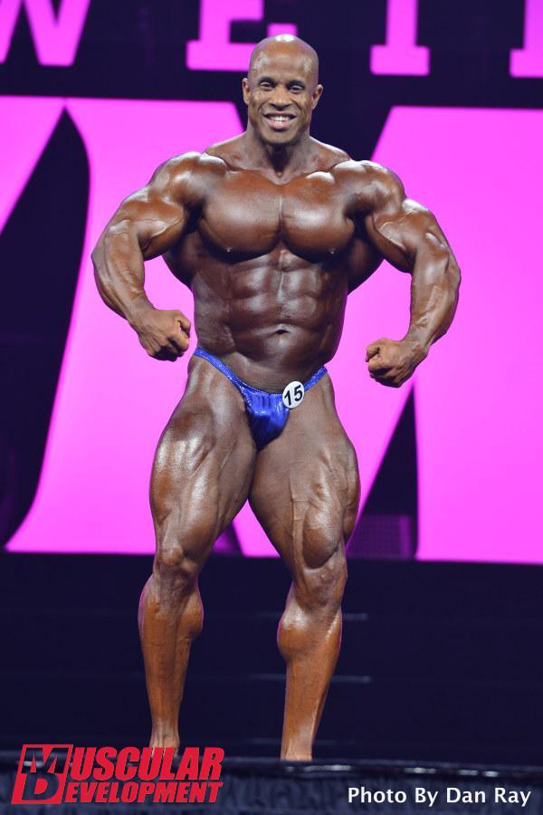 Victor Martinez, novena posición en Mr Olympia 2015