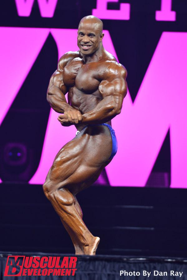 Victor Martinez ha hecho un buen trabajo en Mr Olympia 2015
