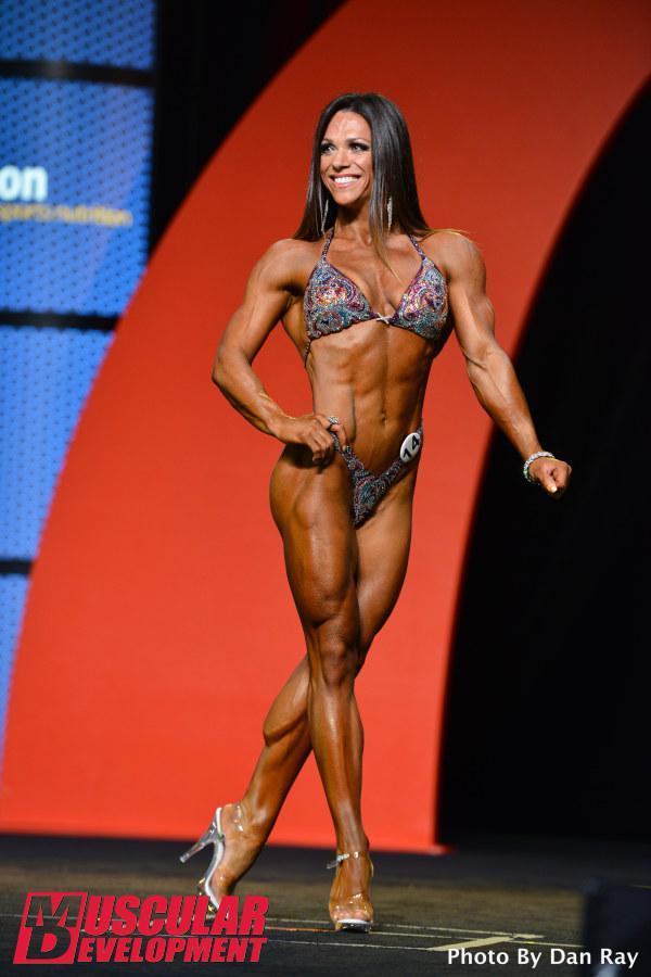 2016 Fitness Olympia Competitor Oksana Grishina