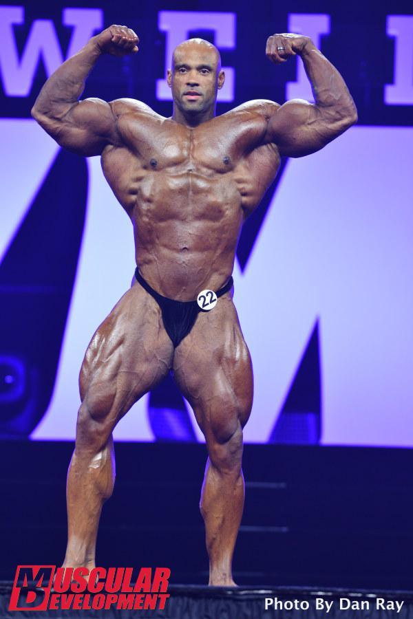 Juan Morel en las semifinales de Mr Olympia 2015
