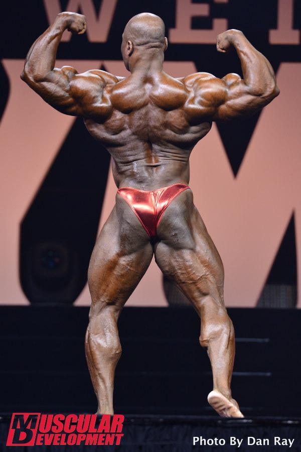 Maxx Charles en las semifinales de Mr Olympia 2015