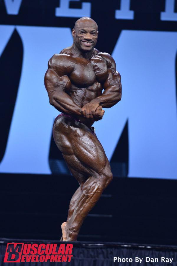 Dexter Jackson ha estado muy cerca de ganar Mr Olympia 2015