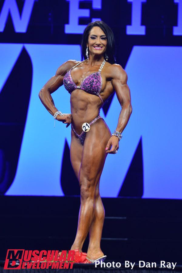 Camala Rodriguez, cuarta plaza en Figura Olympia 2015