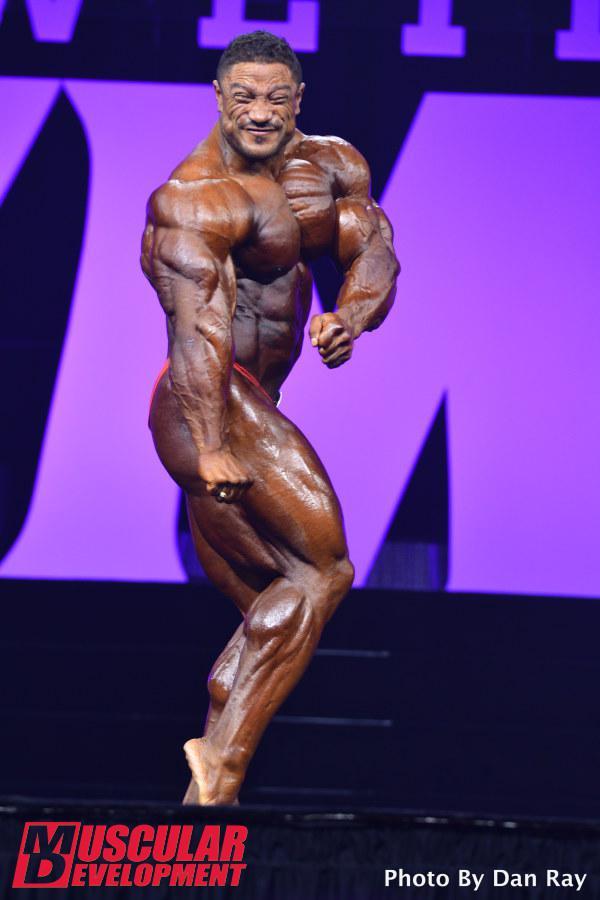 Roelly Winklaar, séptima posición en Mr Olympia 2015