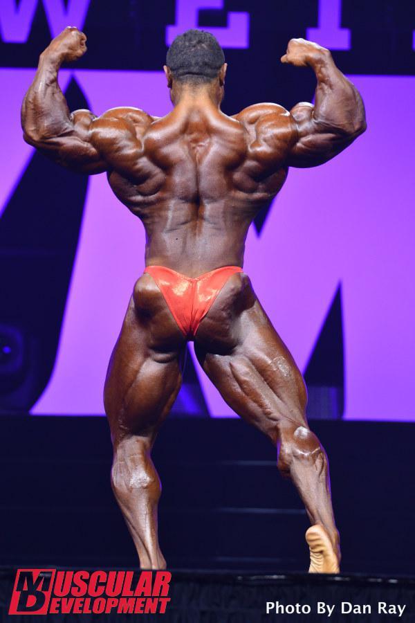 Roelly Winklaar en las semifinales de Mr Olympia 2015