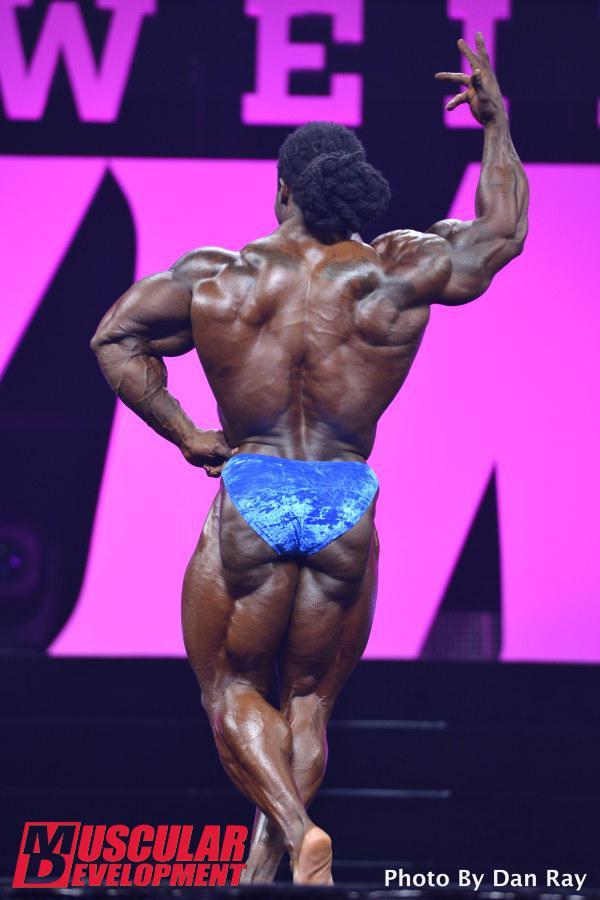 William Bonac en Mr Olympia 2015