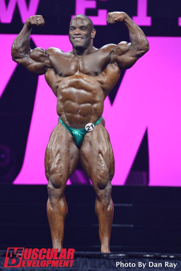 Johnnie Jackson en las semifinales de Mr Olympia 2015