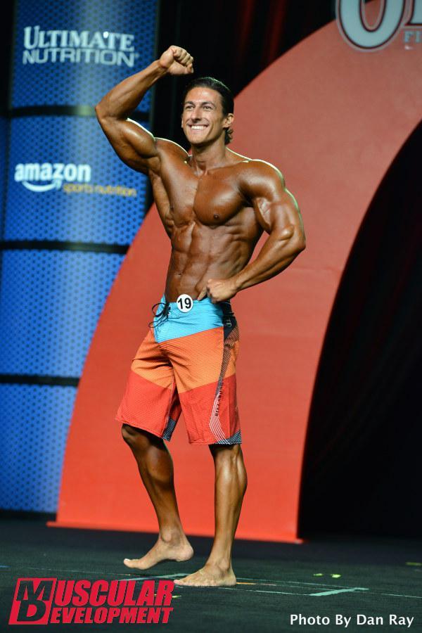 Sadik Hadzovic celebrando su segundo puesto en la competición