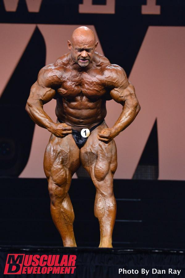Mr. Olympia 2015. – eredmények