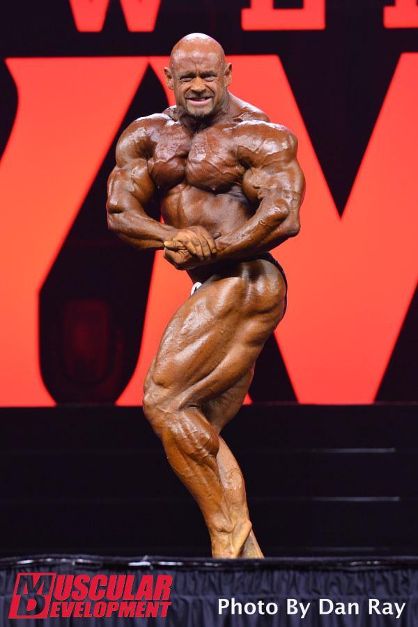 Branch Warren, sexta posición en Mr Olympia 2015