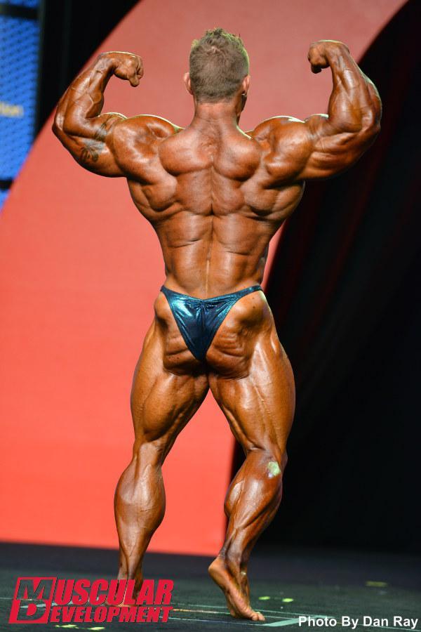 Flex Lewis, un impresionante físico que le ha valido el título de Mr Olympia 2015
