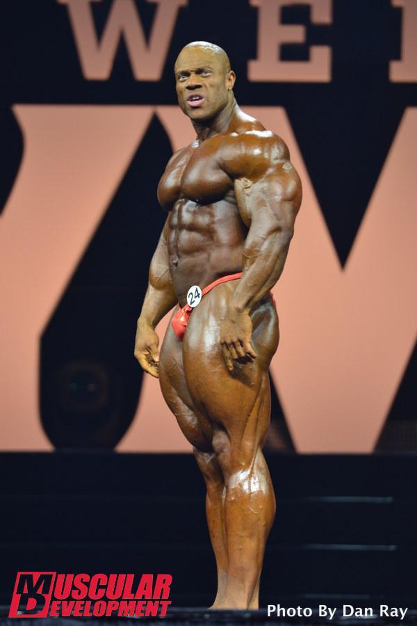 Phil Heath, ganador de Mr Olympia 2015
