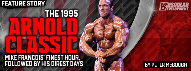 Mike Francois 151995-ARNOLD-CLASSIC