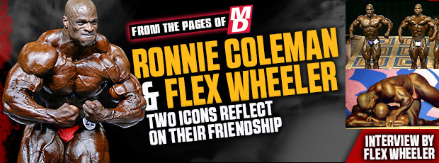 Ronnie Coleman y Flex Wheeler, dos iconos reflexionan sobre su amistad 16ronniecoleman-flexwheeler