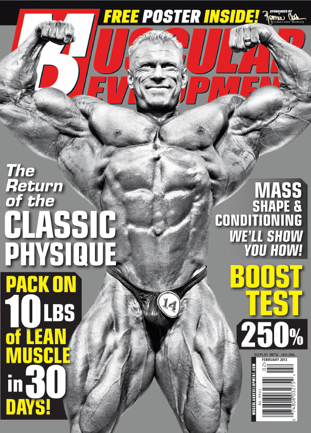 Dennis Wolf February 2013 Cover MD