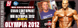 2012 mr OLYMPIA evan centopani