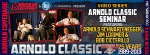 Arnold Schwarzenegger Classic 2013 Bodybuilding