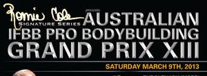 Australian Pro 2013 Rosters