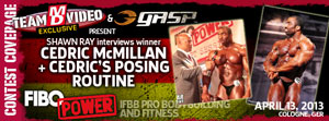 FIBO Power 2013 Bodybuilding